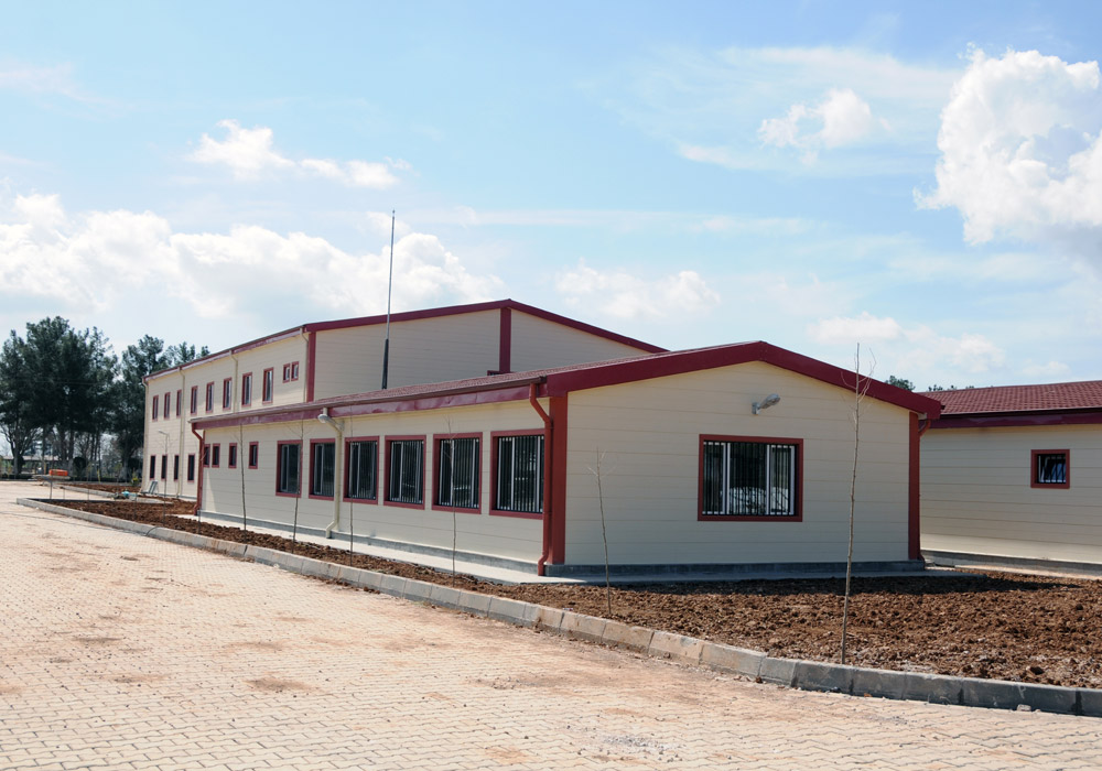 Ministry of Justice Urfa Semi- Open Prison and Warehouse Building Construction Work