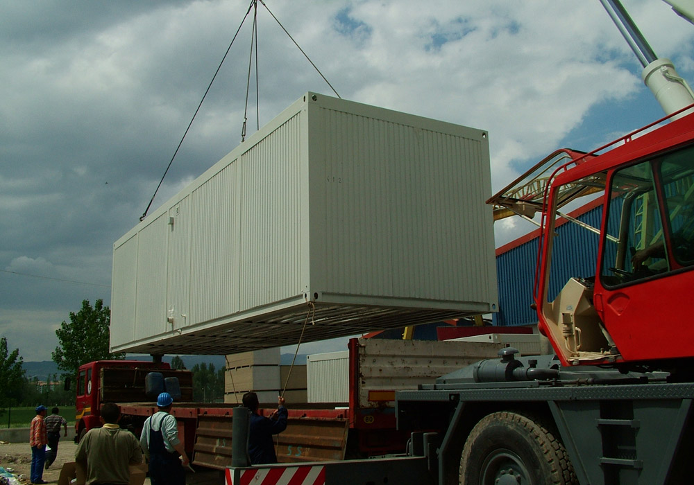 7.000 Units Accommodation Containers Project for U.S. Army