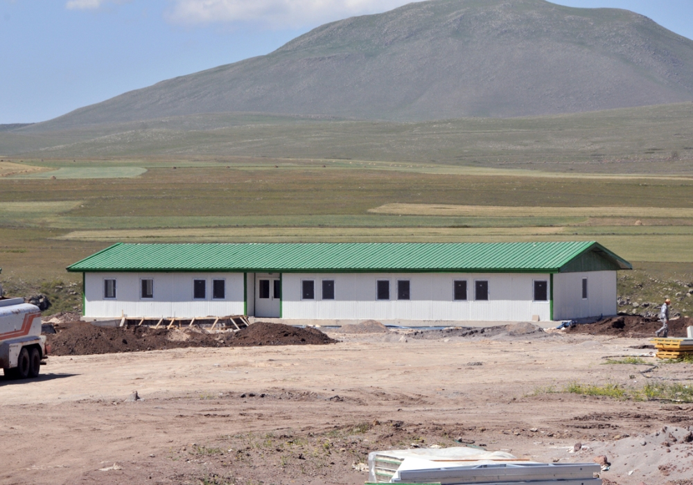Kotanlı Hydroelectric Dam Project Camp Buildings