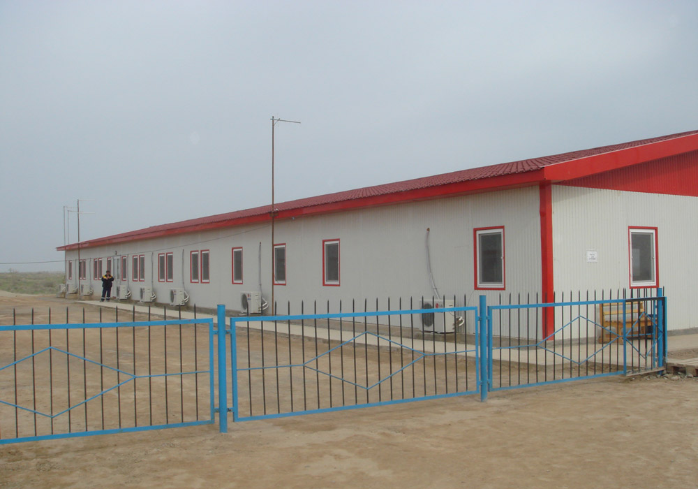 Lukoil Project Camp Buildings