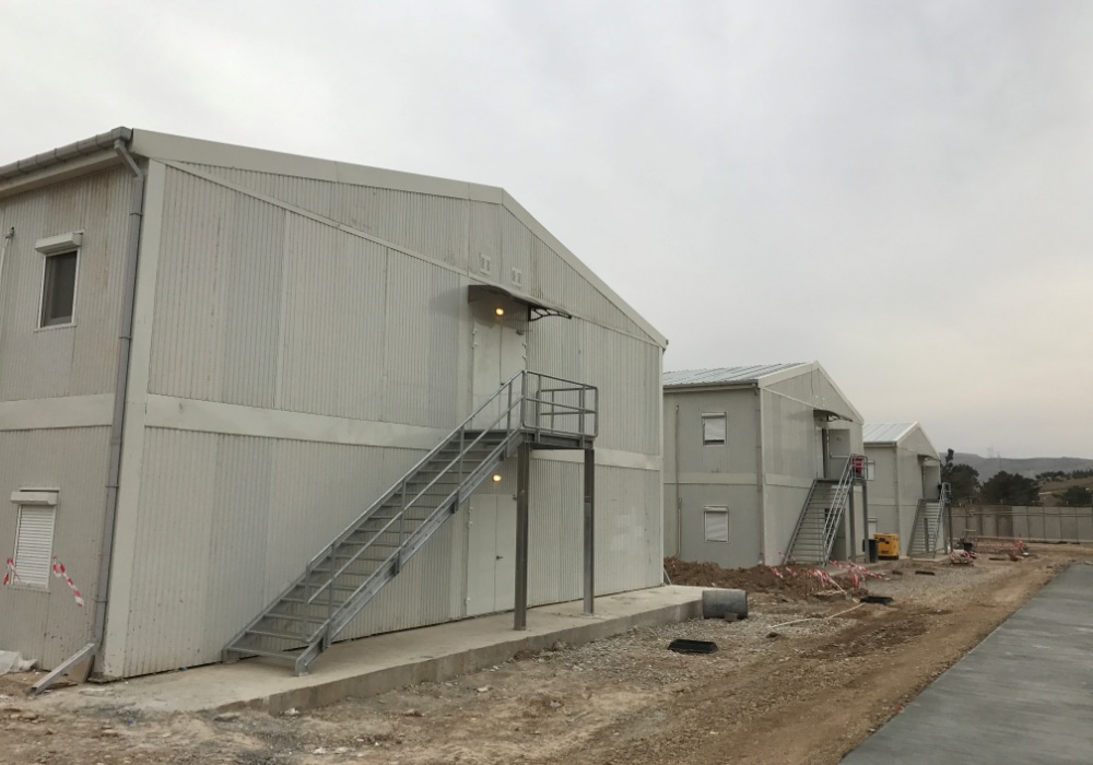 Mosul Dam Project Camp Buildings