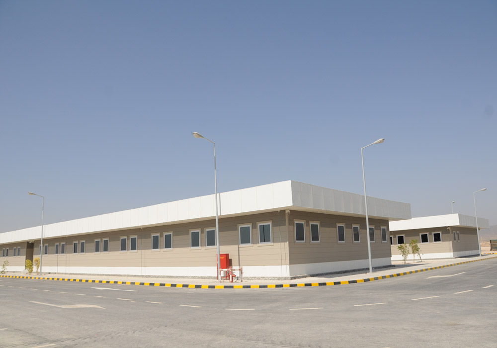 Salalah Airport Project MC-5 Engineer's Site Office