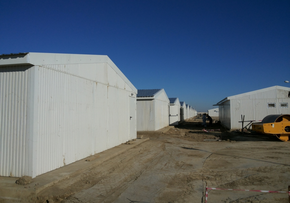 Sangachal Onshore Terminal Project Camp Buildings
