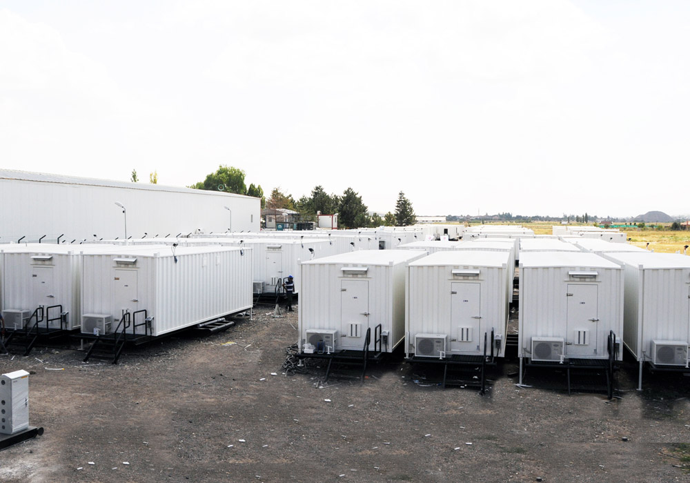 Skid Containers Project for Rig Site Camps
