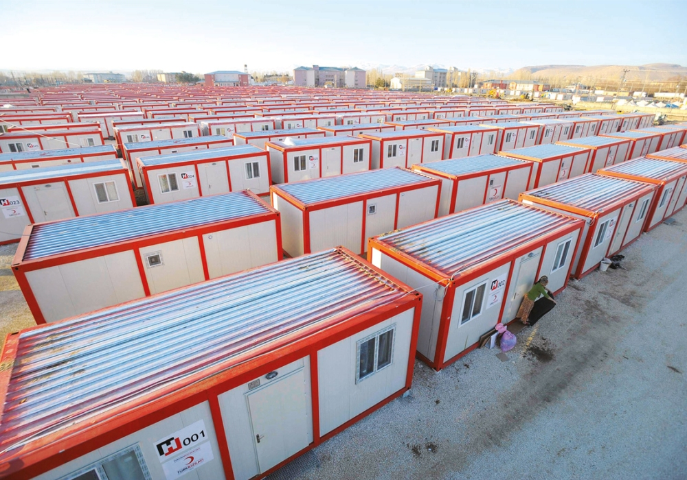 Accommodation, Shower/WC and Storage Container for Turkish Red Crescent (1951 units)